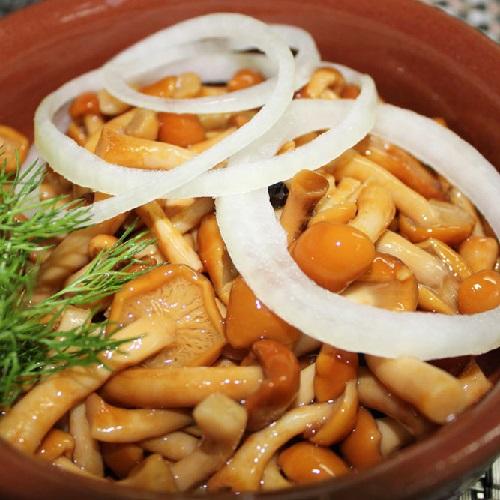Случаи отравления солеными грибами